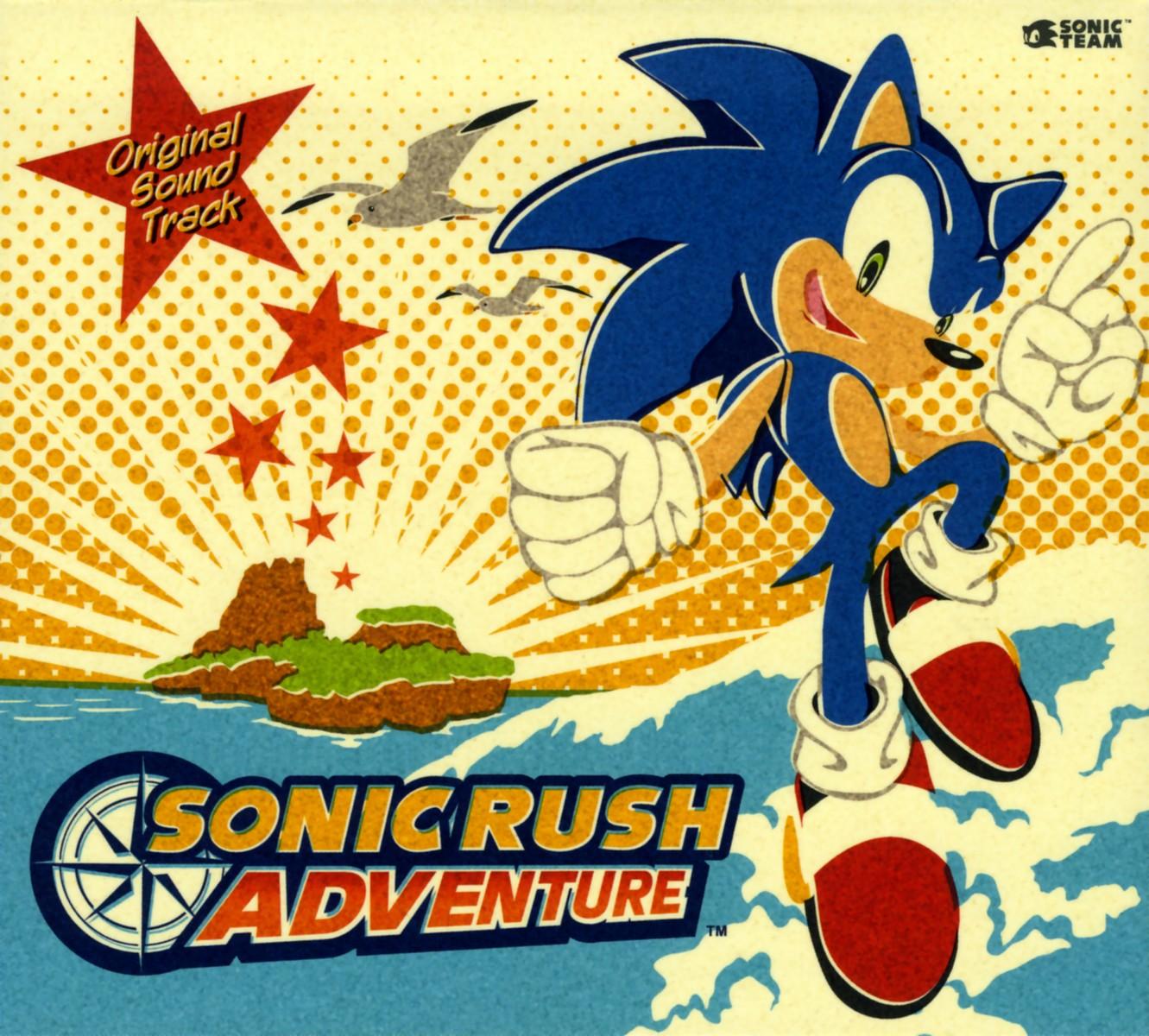 Скачать sonic rush adventure rus
