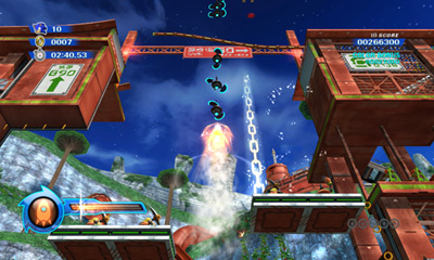Sonic Colors — Orange Wisp
