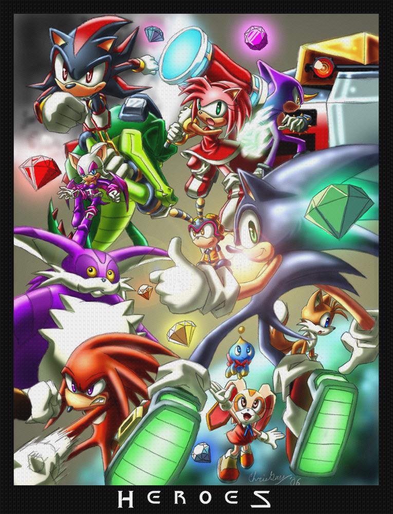 Фанарт - H_E_R_O_E_S — Картинки и фанарт с Соником (Sonic ...