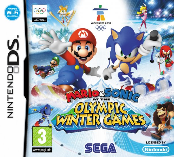 Mario & Sonic at the Winter Olympic Games Olympic_art1