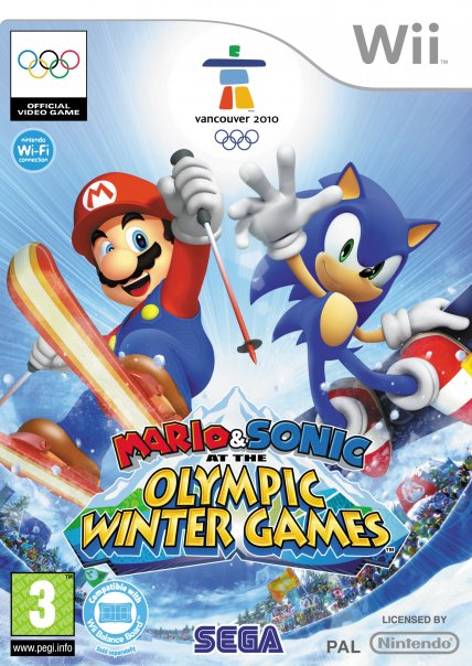 Mario & Sonic at the Winter Olympic Games Olympic_art2